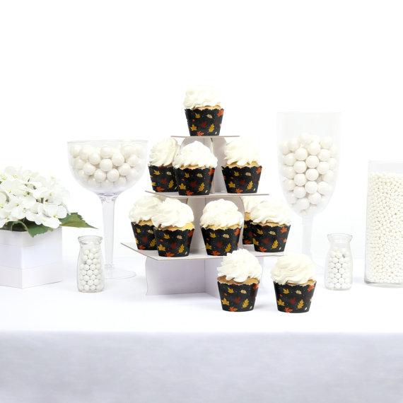 fall cupcake liners