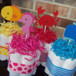 Beach Themed Baby Shower Party Favors and Decorations