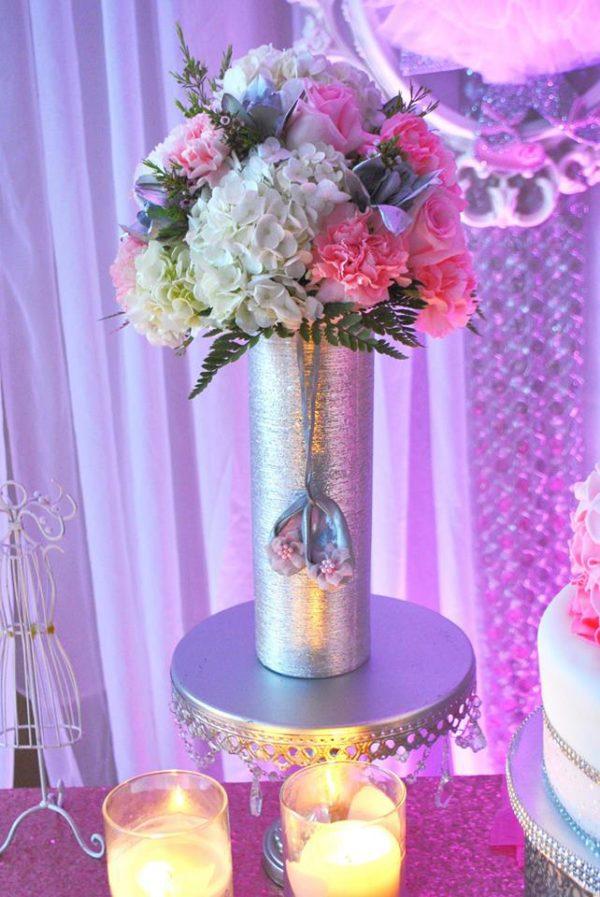 beautiful-ballerina-baby-shower-flowers-candles