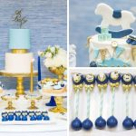 Chic Blue Baby Shower