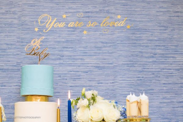 chic-blue-baby-shower-blue-backdrop