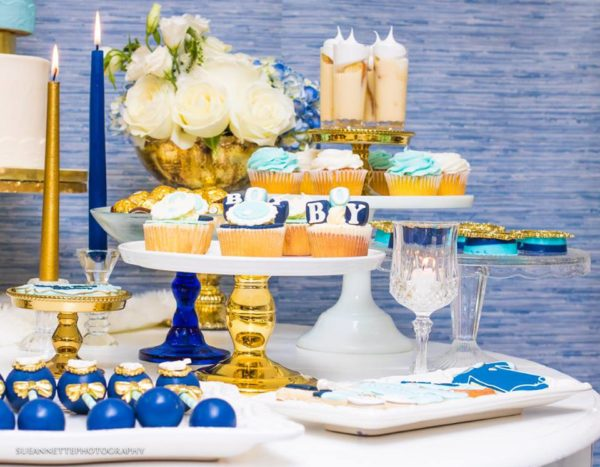 chic-blue-baby-shower-candles