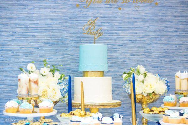 chic-blue-baby-shower-layered-cake