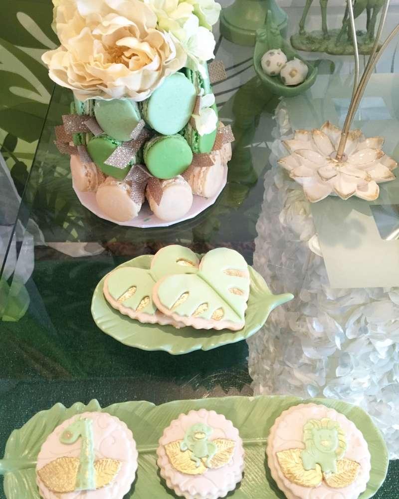 mint-green-jungle-baby-shower-heart-cookies
