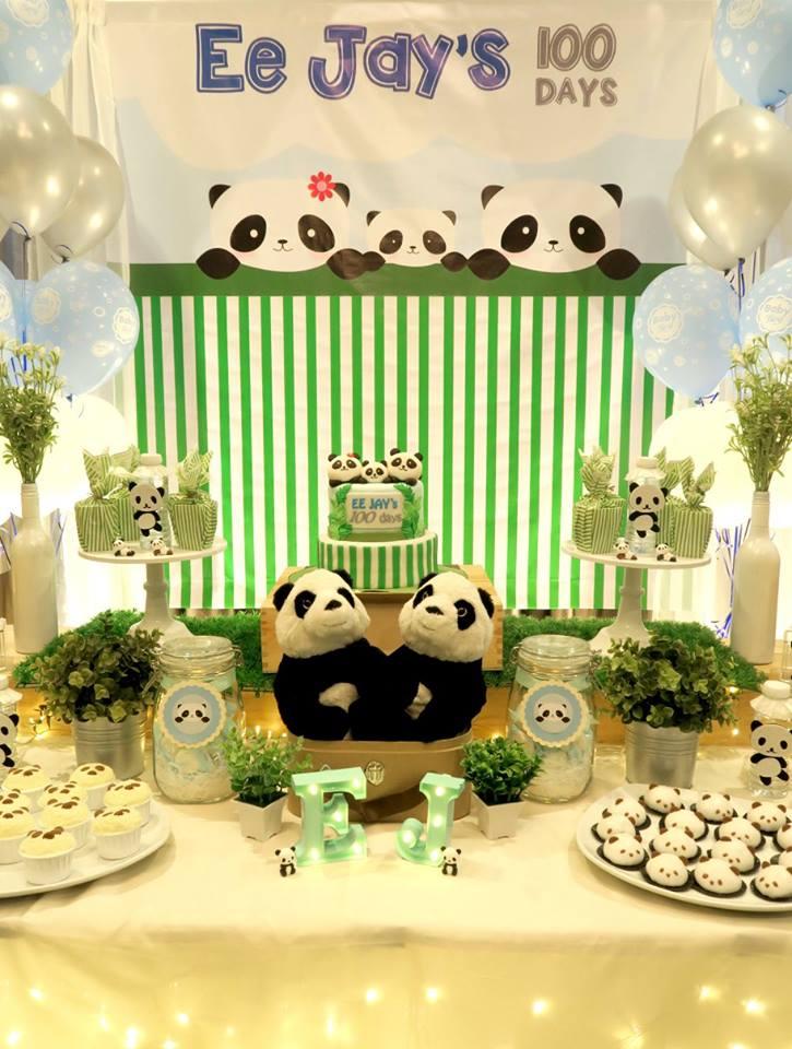 panda-themed-baby-celebration-snack-table