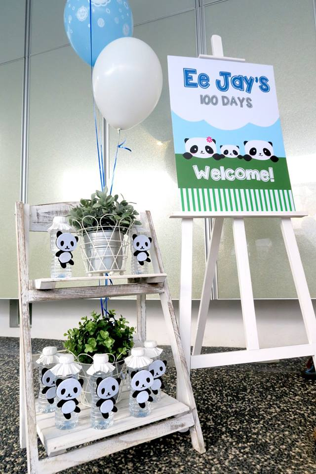 panda-themed-baby-celebration-welcome-sign