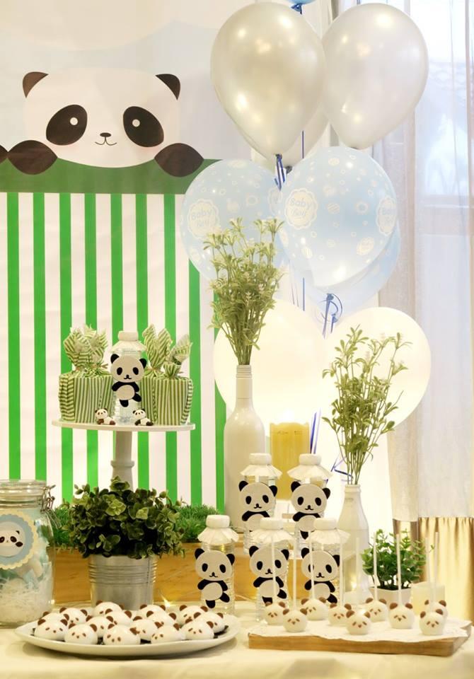 panda-themed-baby-celebration-white-balloons