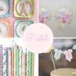 Baby Soft Pastel Baby Shower Inspiration Board