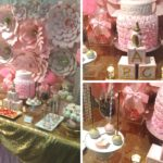 Pretty Pink And Gold Baby Shower