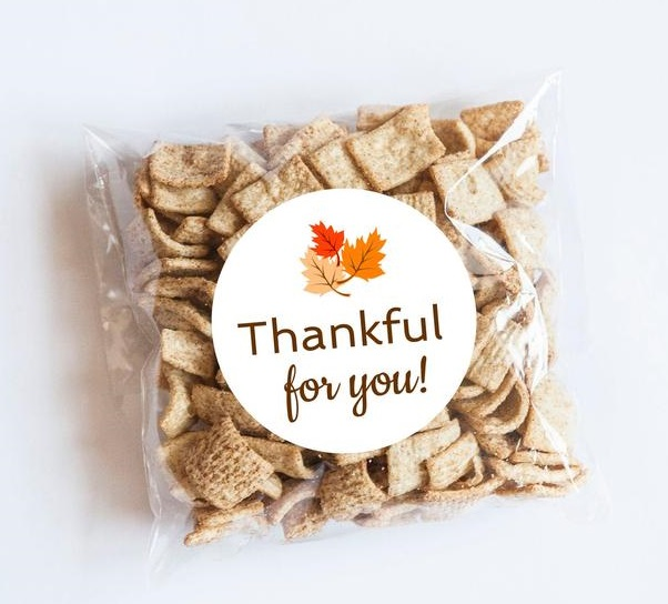 Thankful For You Stickers