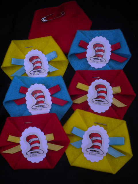 Dr. Seuss Baby Shower dirty diaper game