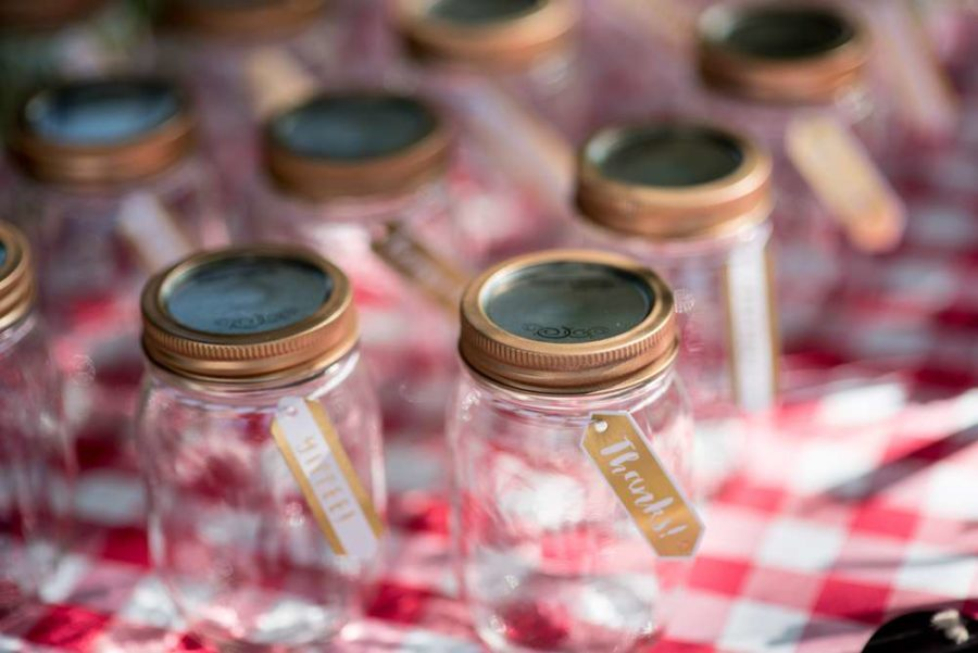 backyard-bbq-baby-shower-decorative-jars