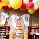 Rustic Backyard BBQ Baby Shower