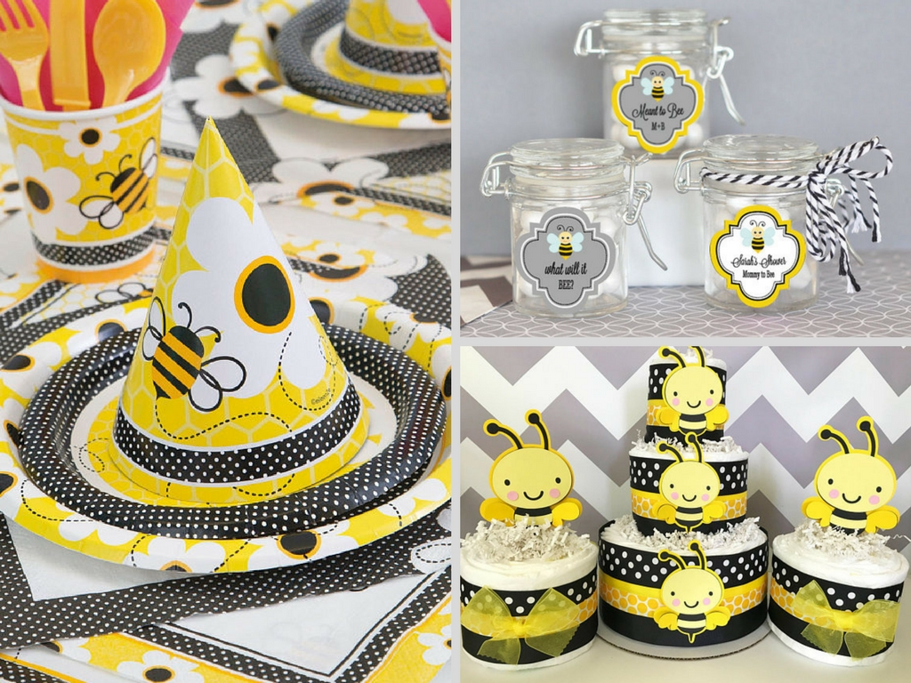 bumble-bee-baby-shower-decorations-and-party-favors