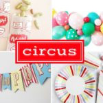 Circus Baby Shower Inspiration Board