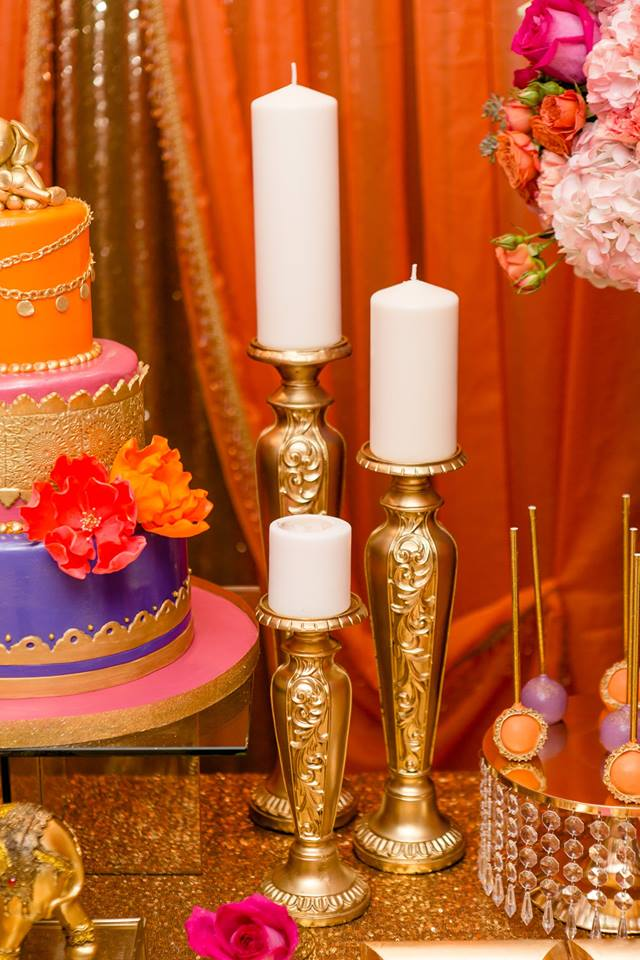 colorful-moroccon-baby-shower-candles