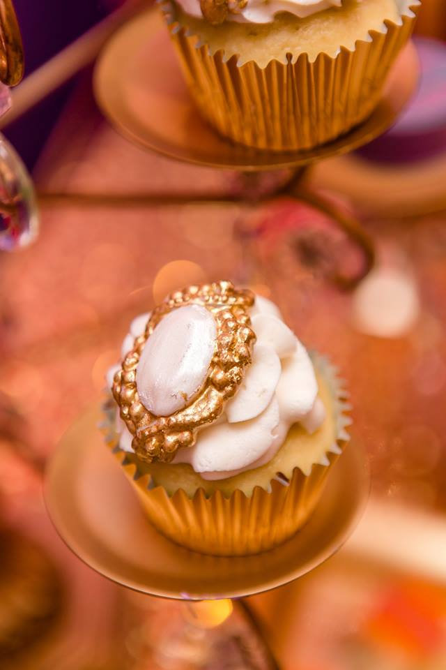 colorful-moroccon-baby-shower-cupcake-gold-topper