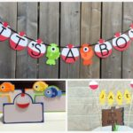 Fishing Themed Baby Shower Decorations and Party Favors