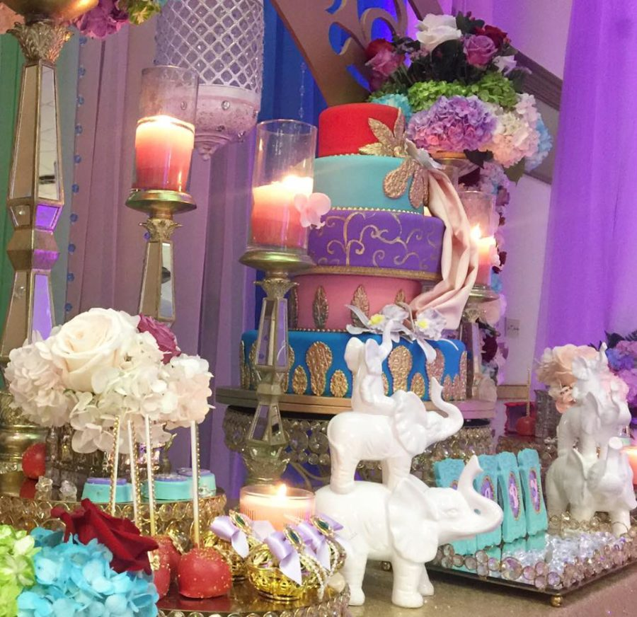 floral-moroccan-princess-baby-shower-elephants
