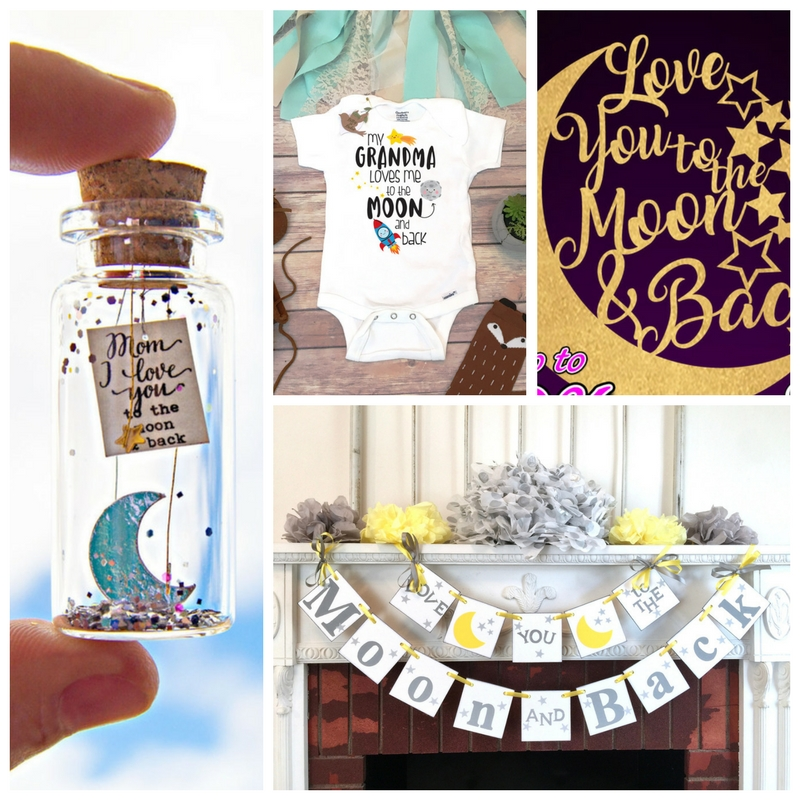 Diy Board Game Ideas: Love You To The Moon And Back Baby Shower Theme Board
