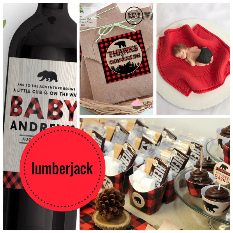 lumberjack-baby-shower-ideas