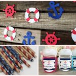Nautical baby Shower Decorations and Party Favors
