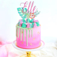 tropical-watercolor-cake-topper-baby-shower-pineapple