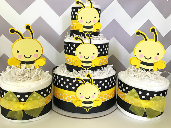 what will it bee diaper cakes