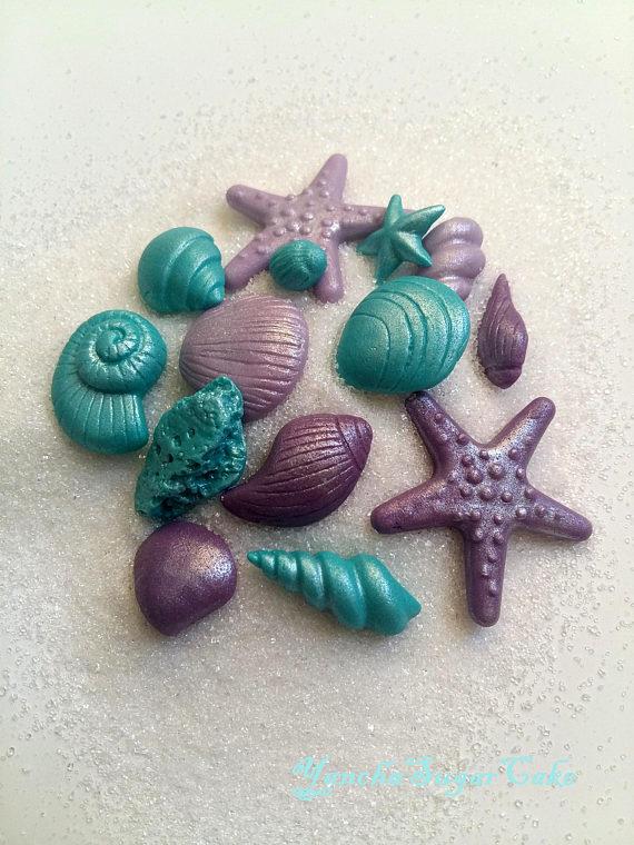fondant shells