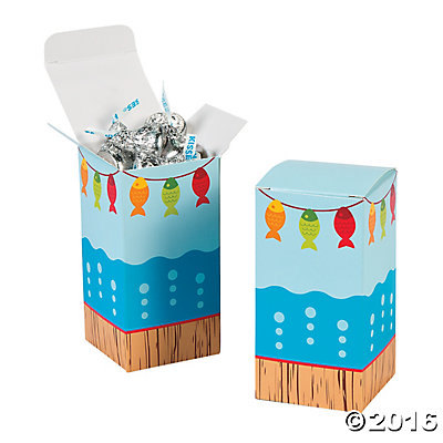 fishing party favor boxes