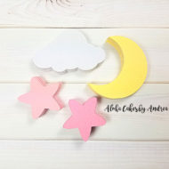 pink-cloud-moon-and-stars-confetti-baby-shower-decorations
