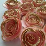 Pink and Gold Themed Baby Shower Decorations and Party Favors