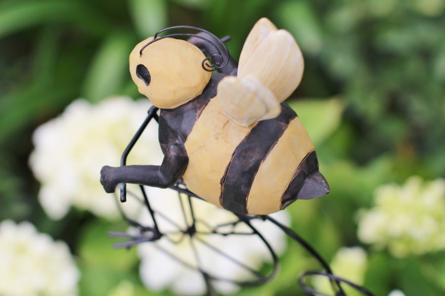 baby-to-bee-outdoor-shower-bumblebee-decor