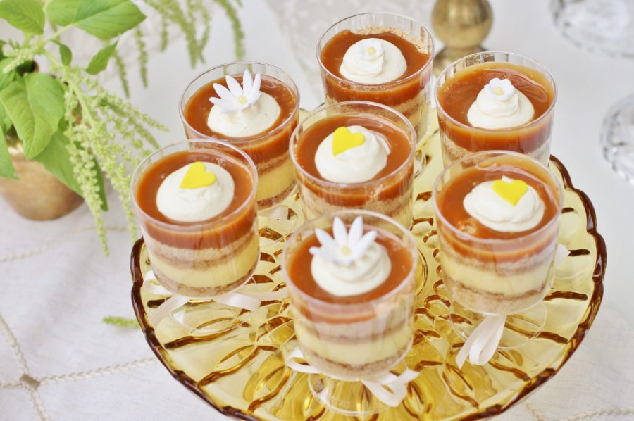 baby-to-bee-outdoor-shower-pudding-cups