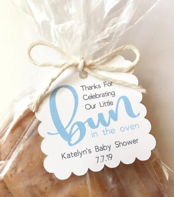 Bun In The Oven Baby Shower Tags