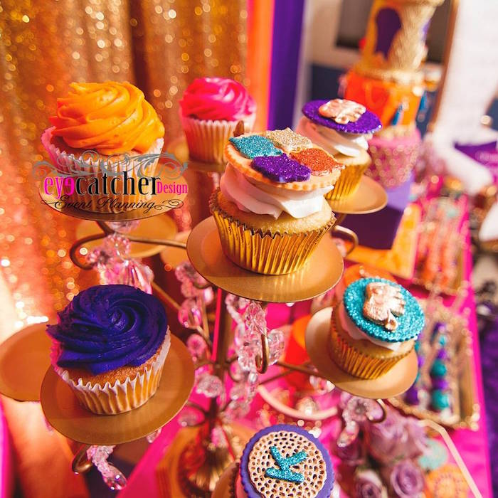 marvelous-moroccan-baby-shower-cupcakes