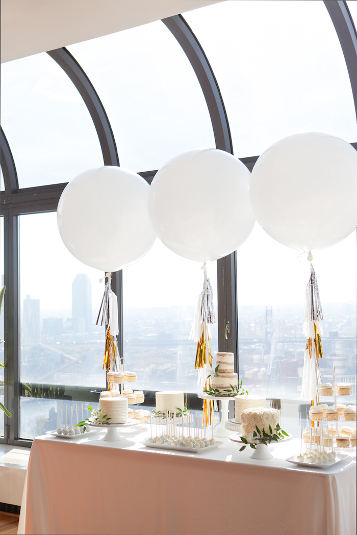 shimmering-chic-baby-shower-dessert-table