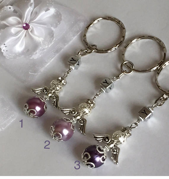 Guardian Angel Key Rings