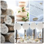 Shimmering Chic Baby Shower
