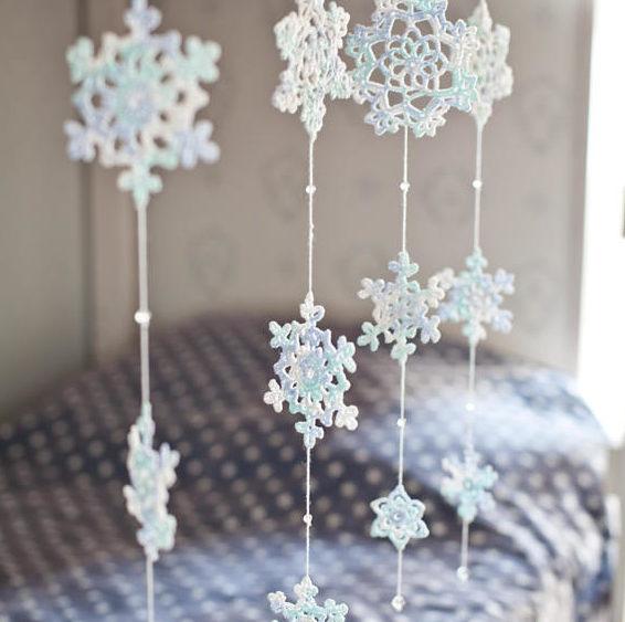 snowflake garland