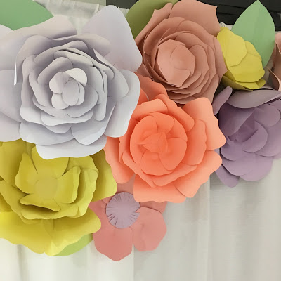 floral-tea-party-baby-shower-colorful-paper-flowers