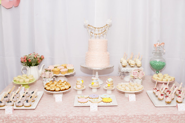 floral-tea-party-baby-shower-dessert-table