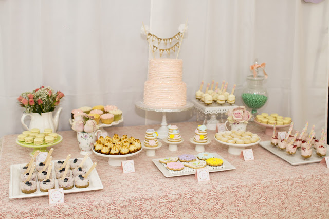 floral-tea-party-baby-shower-treat-table