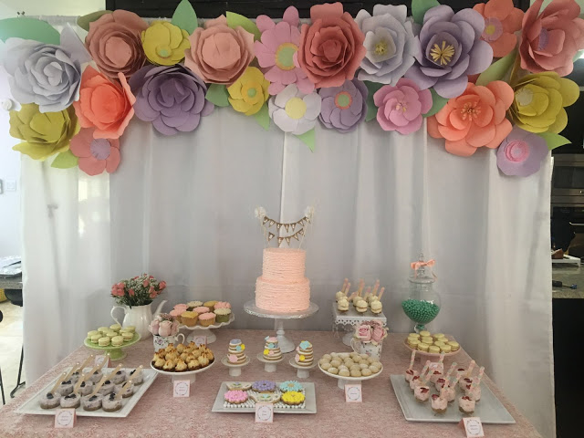 floral-tea-party-baby-shower-treats-table