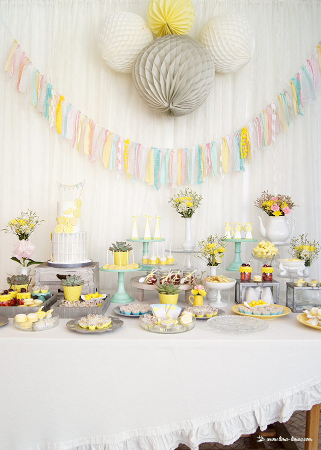 lemon-sunshine-shower-dessert-table