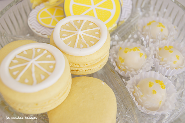 lemon-sunshine-shower-macarons