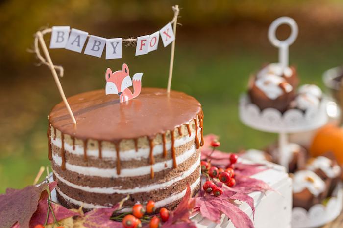 little-fox-fall-baby-shower-cake-topper