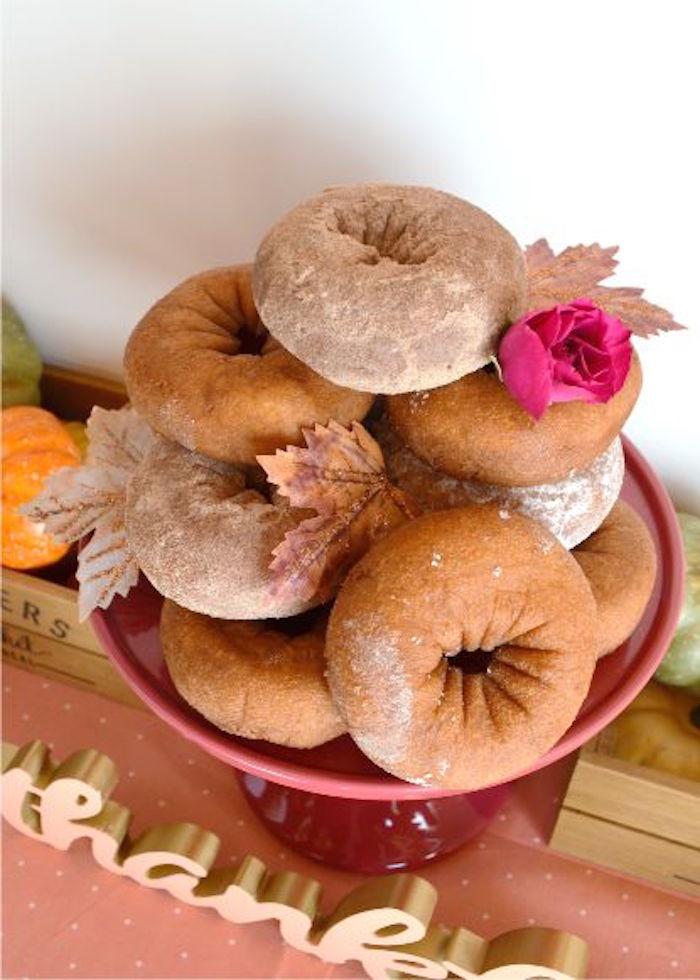 sweet-little-pumpkin-baby-shower-donuts