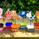 Farm Animal Baby Shower Decorations and Party Favors