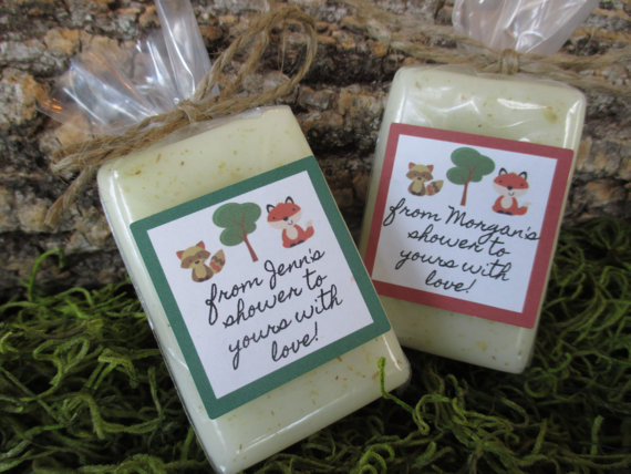 soap baby shower favors